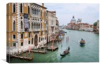 The Grand Canal Venice  Italy, Canvas Print