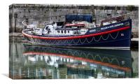 RNLB William and Kate Johnstone, Canvas Print