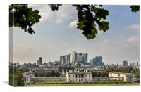 London old and new, Canvas Print