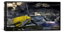Fighter planes, Canvas Print