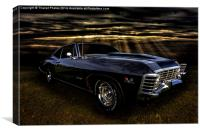 Chevy Impala, Canvas Print