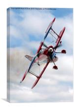 G-EWIZ Pitts Special - The Muscle Biplane, Canvas Print
