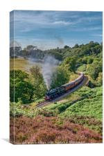 The North Yorkshire Moors Railway, Canvas Print