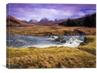 Glen Lyon, Perthshire, Scotland, Canvas Print