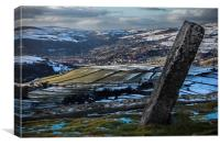 Withens Gate to Todmorden, Canvas Print