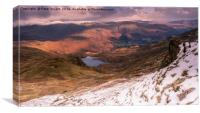 Grasmere Common and Easdale Tarn, Canvas Print