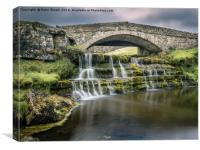 Ure Force, Garsdale Head, North Yorkshire, , Canvas Print