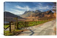Peter CThe Langdale Pikesonnolly, Canvas Print