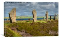 Ring of Brodgar, Canvas Print
