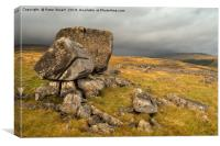 Kingsdale Cheese Press, Canvas Print