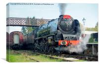 The Royal Scot at Butterley, Canvas Print