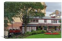 Scarborough, Central Tramway top station., Canvas Print