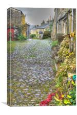 Yorkshire Dales Cobbles, Canvas Print