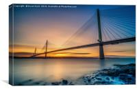 Queensferry Sunset, Canvas Print
