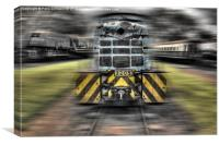 Locomotive, Canvas Print