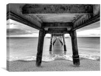 Deal Pier, Canvas Print