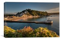 Early Morning Looe, Canvas Print