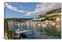 The River Looe in South East Cornwall, Canvas Print