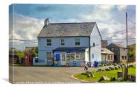 Minions Shop and Tearooms on Bodmin Moor, Canvas Print
