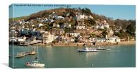 Kingswear From Dartmouth, Canvas Print