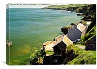 The Lost Village Of Hallsands, Canvas Print
