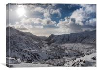 Magnificent Mournes, Canvas Print