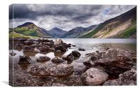 A WastWater Spot of Blue, Canvas Print
