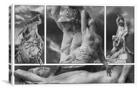 Italy Florence Polyxena Statue Study 1, Canvas Print