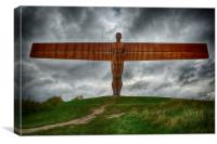 Angel of the North HDR 1, Canvas Print