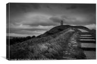 Up To The Tor, Canvas Print
