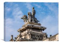 Britannia Statue -The Guildhall Kingston upon Hull, Canvas Print