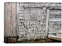 Weathered Barn , Canvas Print