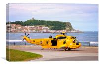 RAF Rescue Helicopter, Canvas Print