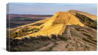 Great Ridge in the Peak District, Canvas Print