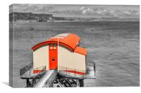 The Old Lifeboat Station, Tenby, Canvas Print