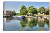 Chichester Ship Canal - West Sussex, Canvas Print