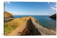 Between Cadgwith Cove & Little Cove, Canvas Print