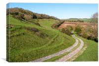 Lychpole Hill - South Downs National Park, Canvas Print