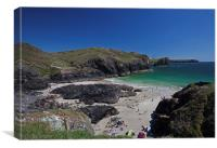 Kynance Cove, Cornwall., Canvas Print