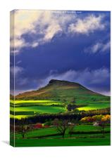 Roseberry Topping North Yorkshire, Canvas Print