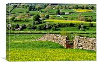 Yorkshire Dales Countryside, Canvas Print