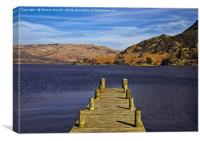 Ullswater from Glenridding, Lake District, Canvas Print