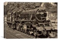 Steam on the North York Moors Railway, Canvas Print
