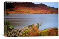 Crummock Water Autumn Evening, Canvas Print