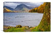 Autumn at Buttermere in the Lake District, Canvas Print
