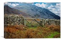 Lake District Fells in Wasdale, Canvas Print