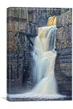 High Force Waterfall in the North Pennines, Canvas Print