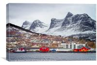 Ornes, Norway, Canvas Print