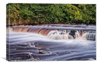 River Swale falls, RIchmond, Yorkshire, Canvas Print
