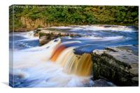 RIver Swale Waterfall, Canvas Print